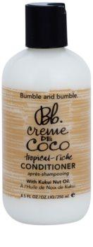 Bumble and Bumble Creme De Coco balsam pentru par ciufulit si plutitor