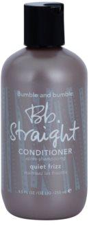 Bumble and Bumble Straight balzam za glajenje krepastih las