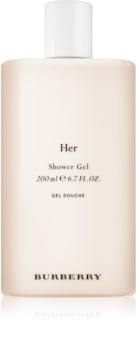 Burberry Her gel douche pour femme 200 ml