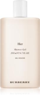 Burberry Her sprchový gél pre ženy