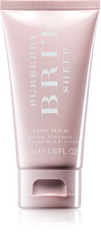 Burberry Brit Sheer Body lotion für Damen 50 ml