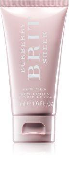 Burberry Brit Sheer lotion corps pour femme 50 ml