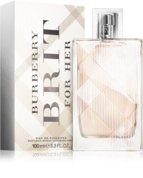 Burberry Brit for Her Eau de Toilette voor Vrouwen  100 ml