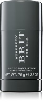 Burberry Brit for Him dédorant stick pour homme 75 g