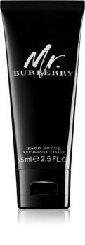 Burberry Mr. Burberry exfoliant facial pentru bărbați 75 ml
