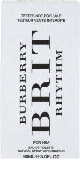 Burberry Brit Rhythm for Him eau de toilette teszter férfiaknak 90 ml