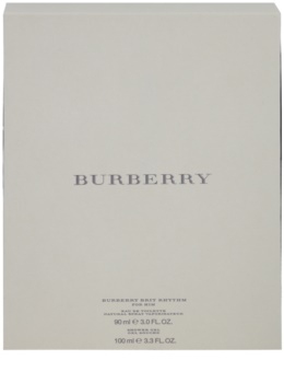 Burberry Brit Rhythm for Him lote de regalo ІХ