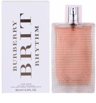 Burberry Brit Rhythm for Her toaletní voda pro ženy 90 ml