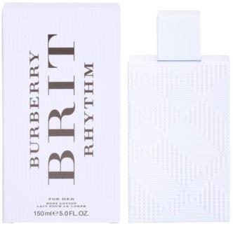 Burberry Brit Rhythm for Her leite corporal para mulheres 150 ml