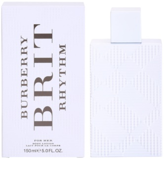 Burberry Brit Rhythm for Her leite corporal para mulheres 150 ml