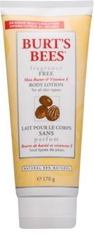 Burt's Bees Shea Butter Vitamin E latte corpo con burro di karité