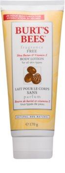 Burt's Bees Shea Butter Vitamin E losjon za telo z karitejevim maslom