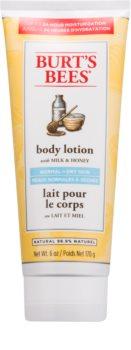 Burt's Bees Milk & Honey Body lotion mit Milch und Honig