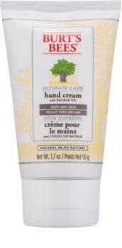 Burt's Bees Ultimate Care crema per le mani per pelli molto secche
