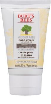 Burt's Bees Ultimate Care kézkrém a nagyon száraz bőrre