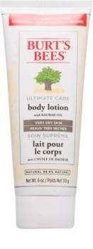 Burt's Bees Ultimate Care latte corpo per pelli molto secche