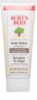Burt's Bees Ultimate Care tělové mléko pro velmi suchou pokožku
