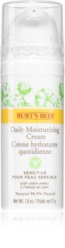 Burt's Bees Sensitive зволожуючий денний крем для чутливої шкіри