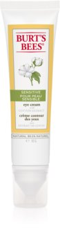 Burt's Bees Sensitive crème hydratante yeux anti-poches et anti-cernes