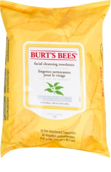 Burt's Bees White Tea nedves tisztító törlőkendők