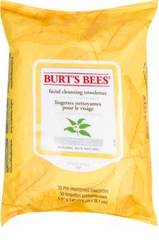 Burt's Bees White Tea vlhčené čisticí ubrousky
