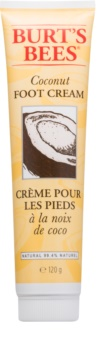 Burt's Bees Coconut beruhigende Creme für die Fußsohlen mit Kokos