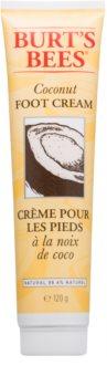 Burt's Bees Coconut bőrpuhító krém lábra kókuszzal
