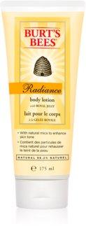 Burt's Bees Radiance hydratačné telové mlieko pre normálnu pokožku