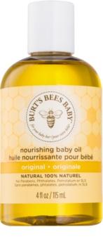 Burt's Bees Baby Bee babaolaj fürdéshez és masszírozáshoz tápláló hatással