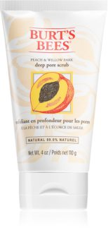 Burt's Bees Peach & Willow Bark Dieptereinigende Peeling