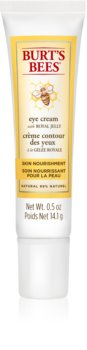 Burt's Bees Skin Nourishment crème hydratante yeux anti-rides et anti-cernes