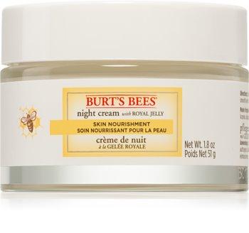 Burt's Bees Skin Nourishment crème de nuit nourrissante intense pour peaux normales à mixtes