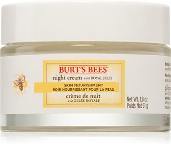 Burt's Bees Skin Nourishment intenzívne vyživujúci nočný krém pre normálnu až zmiešanú pleť