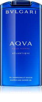 Bvlgari AQVA Pour Homme Atlantiqve Shower Gel for Men 200 ml