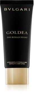 Bvlgari Goldea The Roman Night Körperlotion für Damen 100 ml  mit Glitzerteilchen