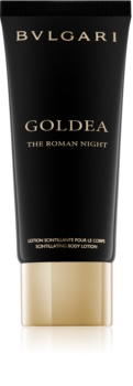Bvlgari Goldea The Roman Night lait corporel à paillettes pour femme 100 ml