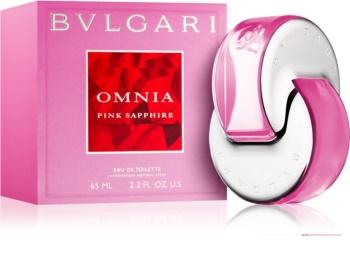 Bvlgari Omnia Pink Sapphire Eau de Toilette voor Vrouwen  65 ml