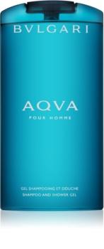 Bvlgari AQVA Pour Homme tusfürdő férfiaknak 200 ml