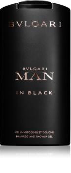 Bvlgari Man in Black gel douche pour homme 200 ml