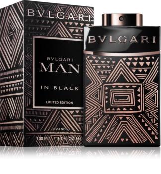 Bvlgari Man in Black Essence eau de parfum para homens 100 ml edição limitada