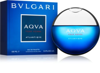 Bvlgari AQVA Pour Homme Atlantiqve Eau de Toilette for Men 100 ml
