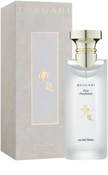 bvlgari eau parfum e au th blanc eau de cologne unisex. Black Bedroom Furniture Sets. Home Design Ideas