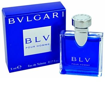 Bvlgari BLV pour homme Eau de Toilette para homens 5 ml