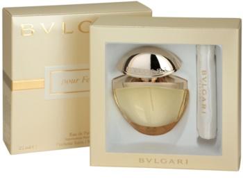 Bvlgari Jewel Charms Pour Femme eau de parfum pentru femei 25 ml + husă de satin