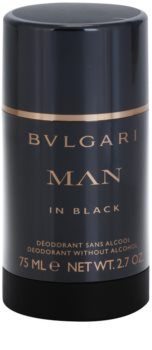 Bvlgari Man in Black Deo-Stick für Herren 75 ml