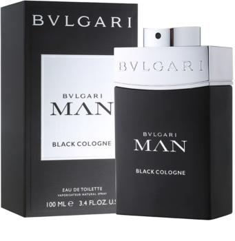 Bvlgari Man Black Cologne Eau de Toilette voor Mannen 100 ml