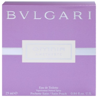 Bvlgari Omnia Amethyste, Eau de Toilette for Women 25 ml + Satin Bag ... 77978e6d2e2