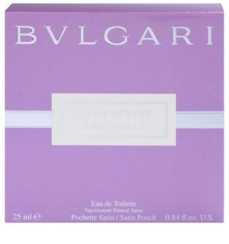 Bvlgari Omnia Amethyste eau de toilette nőknek 25 ml + szatén táska