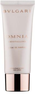 Bvlgari Omnia Crystalline Eau De Parfum leite corporal para mulheres 100 ml