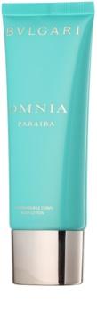 Bvlgari Omnia Paraiba lait corporel pour femme 100 ml